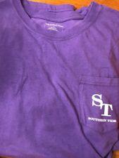 NWT SOUTHERN TIDE SZ XL Men's LOW TIDE Skipjack Pocket T-Shirt Purple