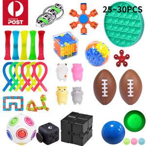 Fidget Toys Set Pack Stress Relief Sensory Tools Bundle Hand Toys Kids Adults AU