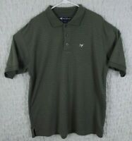 Big Dogs Polo Golf Shirt Men's Size Large Green