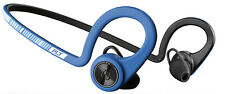 Plantronics Backbeat Fit Stereo Bluetooth Sports Headphones Power Blue