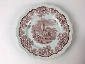 """The Spode Archive Collection Regency Series """"Ruins"""" Dinner Plate, 11"""" Diameter"""