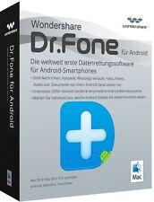 Wondershare Dr.Fone Android MAC Datenrettung lifetime Vollver.Download nur 27,99