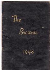 1948 YEARBOOK*THE BROWNIE*JONES VALLEY HIGH SCHOOL*BIRMINGHAM ALABAMA*AL*56 PAGE