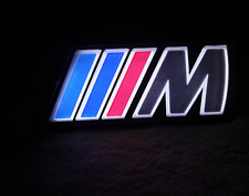 BMW M Sport LED Light Front Grill Badge Car Styling Msport Car Accessory New