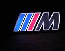 BMW M Sport LED Luce Griglia Frontale BADGE CAR Styling MSport Auto Accessorio Nuovo