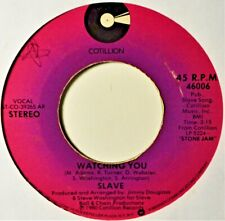 "Slave Watching You Soul Funk Funky 45 7"" Vinyl Low-End Plays Well 1980's R&B"