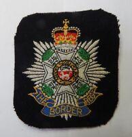 The Border Regiment  Cloth Regimental  Blazer Badge .