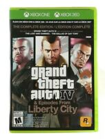 Grand Theft Auto IV: The Complete Edition (Microsoft Xbox 360, Xbox One) TESTED