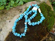 Ancien bracelet collier pierres turquoise