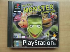 Playstation 1 - Muppet Monster Adventure - Manual INCLUDED