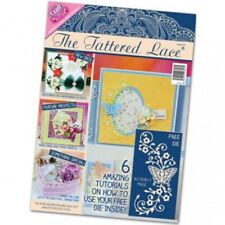 TATTERED LACE MAGAZINE ISSUE 20 WITH FREE BUTTERFLY MAGIC DIE SET - NEW