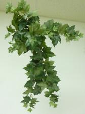 "Trailing Green Frosted Ivy Bush 22"" Silk Flowers / Foliage"