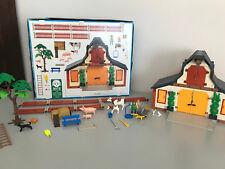 Playmobil Bauernhof 3072 Trecker 4497 Hundehütte 4498 und vielen Extras