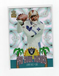 2002 Pacific Crown Royale Pro Bowl Honors Jerry Rice #14 Insert