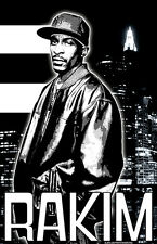 "Rakim ""Black Light"" Poster"