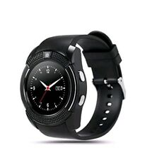 Runde Smart Watch Bluetooth Kamera Dial V8 Armbanduhr mit SIM-Kartensteckplatz