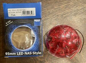 New LAND ROVER DEFENDER LR048201LED S6079LED WIPAC NAS 95mm LED FOG LIGHT