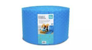 Pen+Gear 12 in x 100 ft Bubble Cushion, Blue, 5/16 Large Bubbles