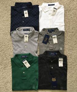 NWT Polo Ralph Lauren Men SOFT TOUCH Polo Shirt CLASSIC FIT Size S M L XL XXL