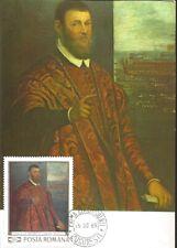 U) 1969, ROMA, SENATOR VENETIAN, SCOALA LUI TINTORETTO, MAXIMUM CARD