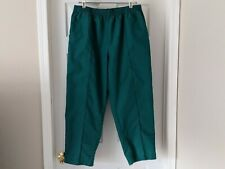Crest Scrub Pants Solid Green Womens Size Xl with pockets. Love! Euc !