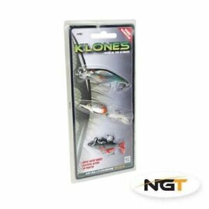 NGT Klones Roach Lure Set of 3 Plug Spinner and Soft Bait