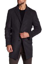 $495 NEW John Varvatos Star USA Wool Blend Coat in Grey Size 42R