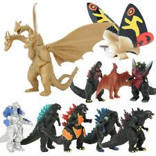10pcs Godzilla 2 King Of Monsters Mechagodzilla Gigan Anguirus Model Figure Toys