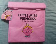 Little Miss Princess Mr Men lunch bag/cool bag BNWT pink
