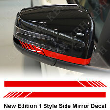 Mirror Stripe Decal Sticker for Mercedes Benz W204 W212 W117 W176 Edition 1 AMG