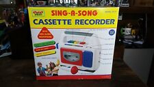 Vintage Street Beat Sing A Long Cassette Recorder Player Microphone Model CT-71