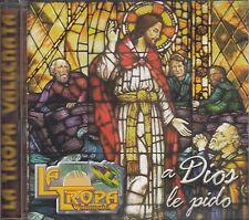 La Tropa Vallenata A Dios Le Pido CD No Plastic Seal