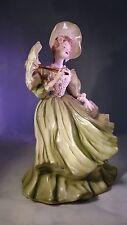 Antique Florence Ceramics Morning Dress 1834 Florence Fashion Parade Figurine