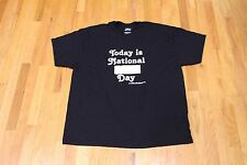 TODAY IS NATIONAL *BLANK* DAY WRITEABLE FILL IN THE BLANK GRAPHIC TEE 2XL NEW