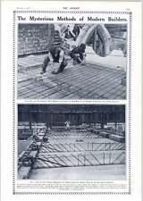 1910 sistema di cemento armato a lunga distanza FARMAN BIPLANO MOTORE Gnome