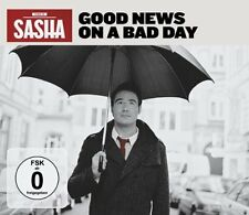 Sasha - Good News On A Bad Day (Limited Deluxe Edition CD+DVD) NEW & SEALED