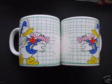 Kaffeetasse Kaffeebecher Donald Duck als Tennisspieler