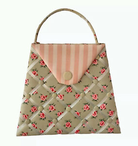 "Decorative Hand Bag Shaped Push Pin Board 13x16x18"""