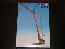 Kibri 1/87 HO Liebherr LTM 1400 8-Axle Hydraulic Truck Crane w Jib #13005