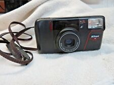 Nikon Zoom Touch 400 35mm point and shoot camera AF zoom 35-70mm MACRO