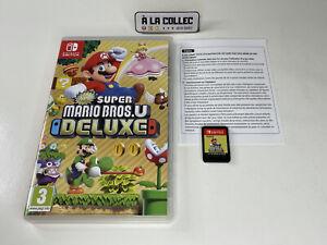 New Super Mario Bros. U Deluxe - Jeu Nintendo Switch (FR) - Complet