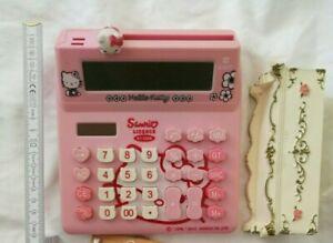 SANRIO KITTY CALCULATOR Taschenrechner