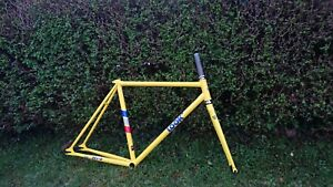 Look AC 364 Heritage Frameset NEW Yellow Small Track Pista Fixed Single Speed