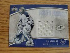 2005-06 Upper Deck Ice Frozen Fabrics #FFEB Ed Belfour