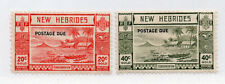British New Hebrides - SG# D8 & D9 MLH      /       Lot 0720512