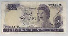New Zealand 2 Dollar Banknote. 2$