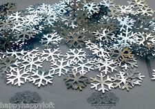 ❅ congelés argent flocons de neige ❅ Table Confetti ❅ Partie Décorations Paillettes de Noël ❅