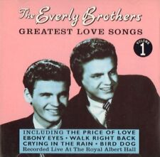 The Everly Brothers(CD Album)Greatest Love Songs - Volume 1-Prism Leisu-VG