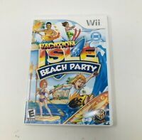 Vacation Isle: Beach Party - Nintendo Wii free fast shipping