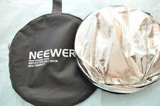 """Neewer PRO 51"""" ReflectaDisc Reflector Silver for Nikon canon"""